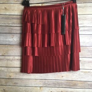 Shilla The Label illume Pleat Skirt Sz XS